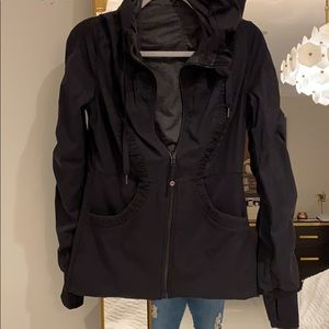 Lululemon Reversible size 8 jacket with hoodie